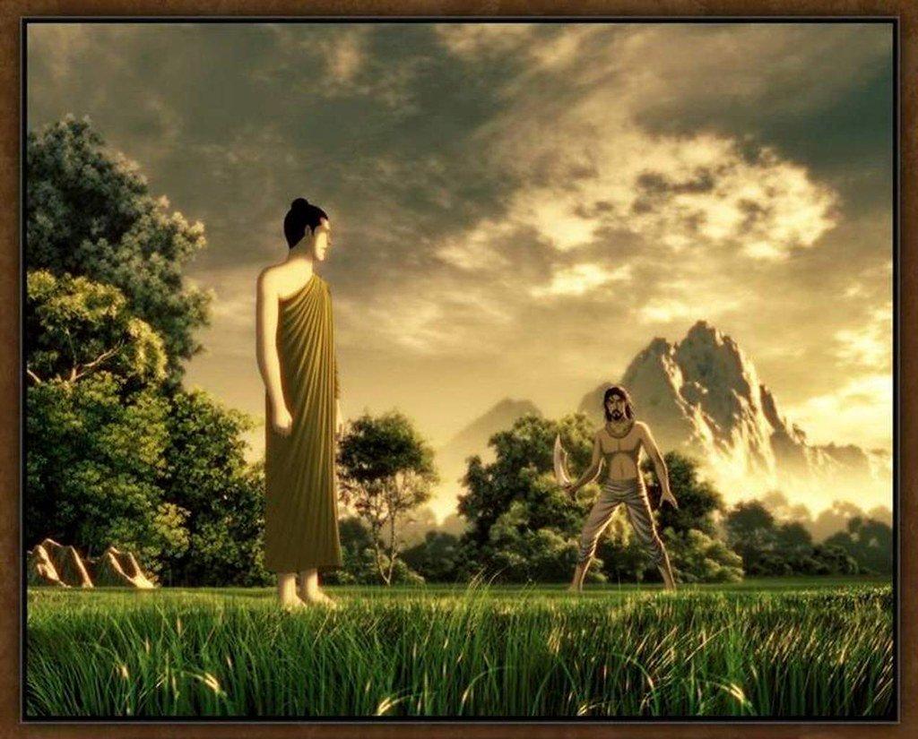 La storia su come il Buddha trasformò un assassino in un saggio